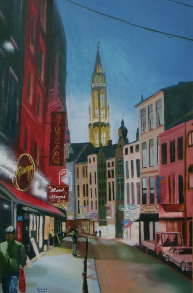 painting of brussels, belgium