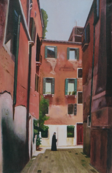 painting of venice italy in oils